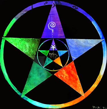 Pentacle - 5 Spirits