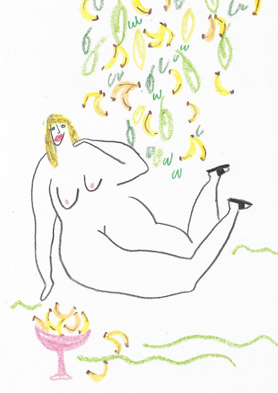 Banana Tree Lady