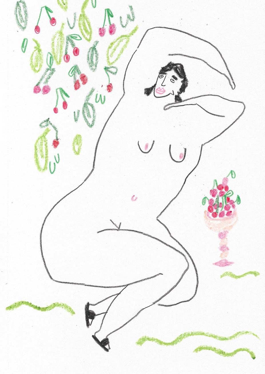 Cherry Tree Lady