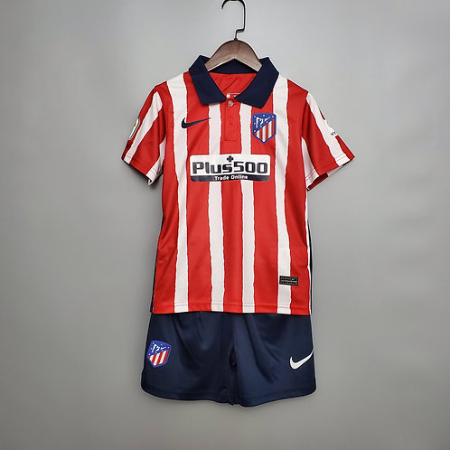 KIT INFANTIL ATLÉTICO DE MADRID HOME 20/21