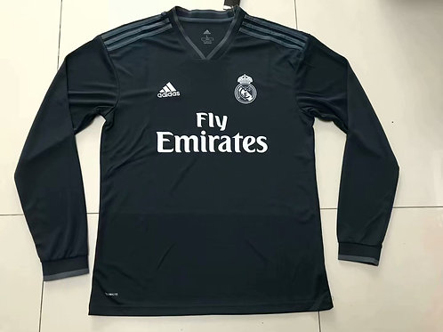 REAL MADRID AWAY MANGA LONGA