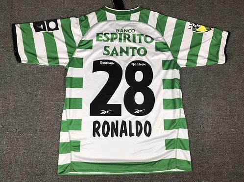 SPORTING RETRÔ 2003 RONALDO