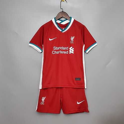 KIT INFANTIL LIVERPOOL HOME 20/21