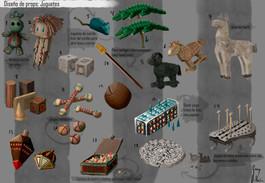 Diseño de props: Juguetes