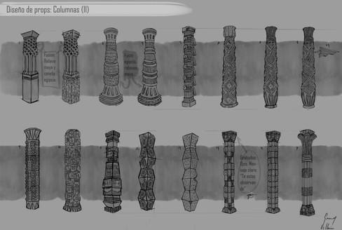 Diseño enviroments: Columnas