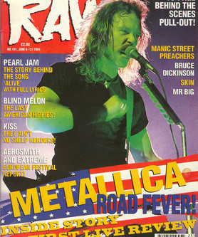 My Metallica Cover Story