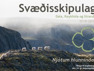 Auglýsing um tillögu að Svæðisskipulagi Dala, Reykhóla og Stranda 2018-2030