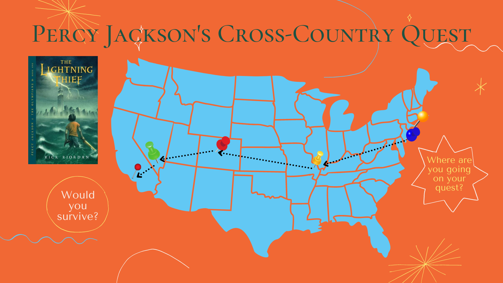 Percy Jackson's Cross Country Quest