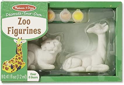 Kit para pintar Animales del zoológico