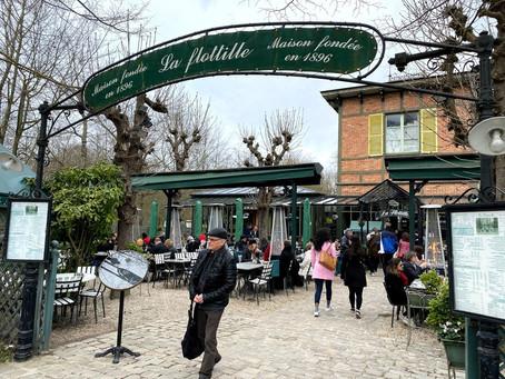 【美食分享】位於Château de Versailles凡爾賽宮旁邊的La Flottille 享受美景與美食 一次擁有 從主廚的角度看世界chefeye les plats sont super