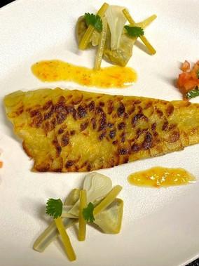 【巴黎藍帶廚藝學校】食譜分享 Resette【Filet de bar en écailles de pomme de terre】Le Cordon Bleu cuisine從主廚的角度看世界