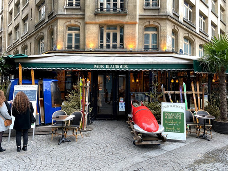 【美食分享】Paris Beaubourg位於Le Center POMPIDOU旁的法式餐館 推薦紅酒燉牛肉煎鴨胸熔岩巧克力 從主廚的角度看世界chefeye C'est très très Bon