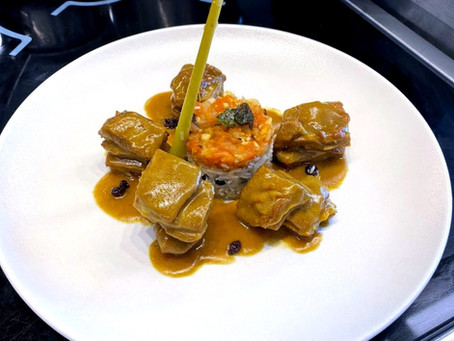 【巴黎藍帶廚藝學校】食譜分享 Resette【Curry d'agneau Creole】Le Cordon Bleu Paris cuisine Intermédiaire從主廚的角度看世界