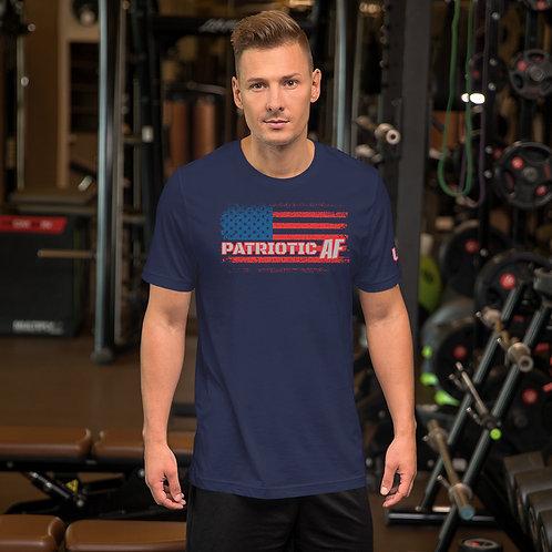 Short-Sleeve Unisex T-Shirt with our Patriotic AF design!