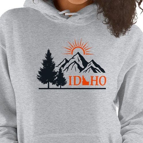 Unisex Hoodie With our IDAHO design.