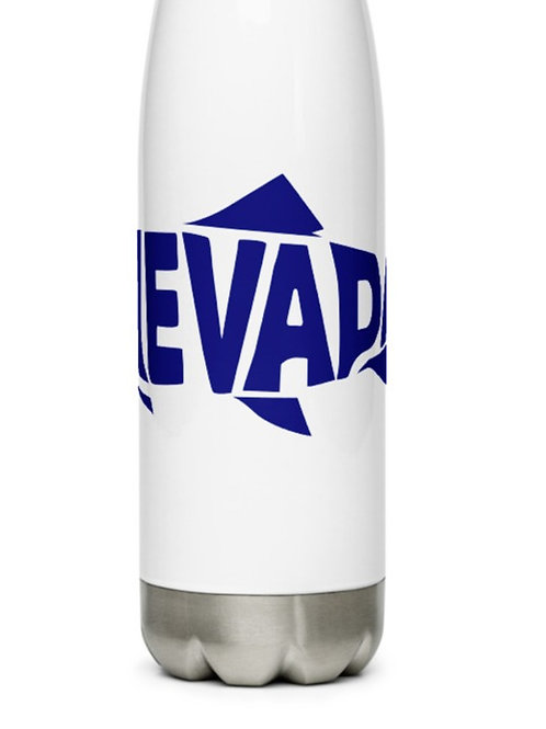 Stainless Steel Water Bottle with our Nevada fish design.