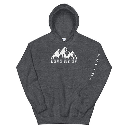 Unisex Hoodie with our custom Nevada design.