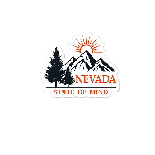 Bubble-free stickers with our NEVADA design.