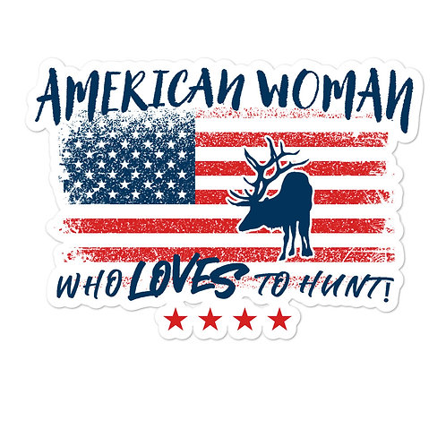 Custom designed for the woman who loves to hunt!