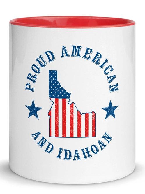 Mug with Color Inside with our Idaho design.