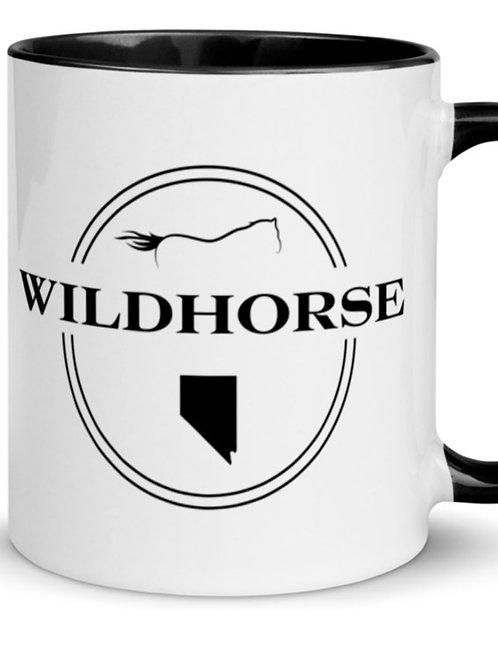 Wildhorse Nevada mug with color inside