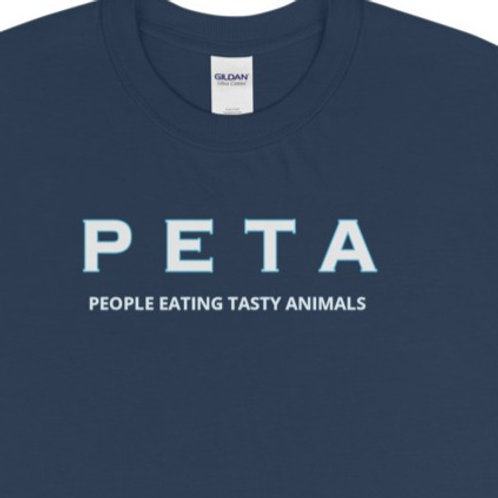 Short Sleeve T-Shirt with our PETA design