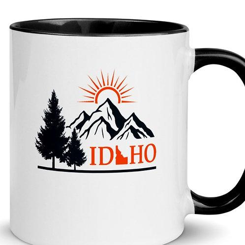 Mug with Color Inside with our Idaho design!