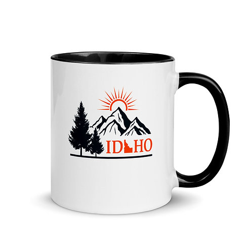 Mug with Color Inside with our Idaho design!