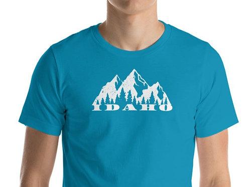 Short-Sleeve Unisex T-Shirt with our Idaho design.