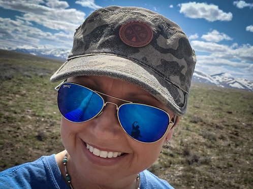 GO BE DO Khaki Army Style Hat