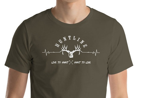 Short-Sleeve Unisex T with our Huntline design.