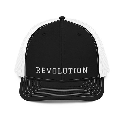 Trucker Cap with our Revolution design.