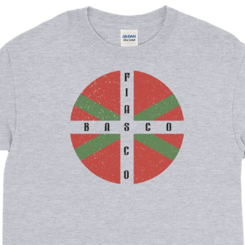 Long Sleeve tee with our Basco Fiasco design.