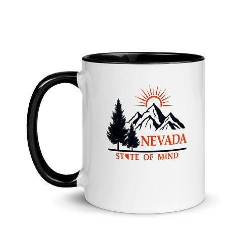 Mug with Color Inside with our beautiful Nevada design!