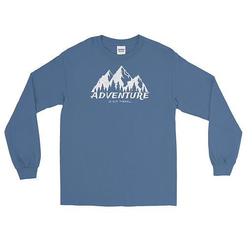 Long sleeve tee with our Adventure design.