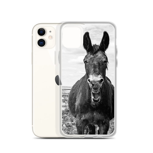 iPhone Case With our Smiling Mule on the back!