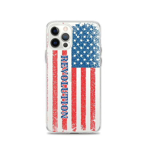 iPhone Case with our flag and Revolution design.