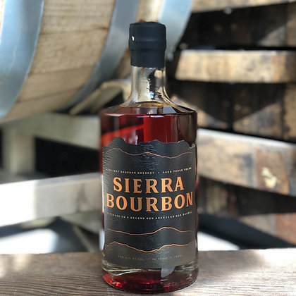 Sierra Double Barreled Bourbon