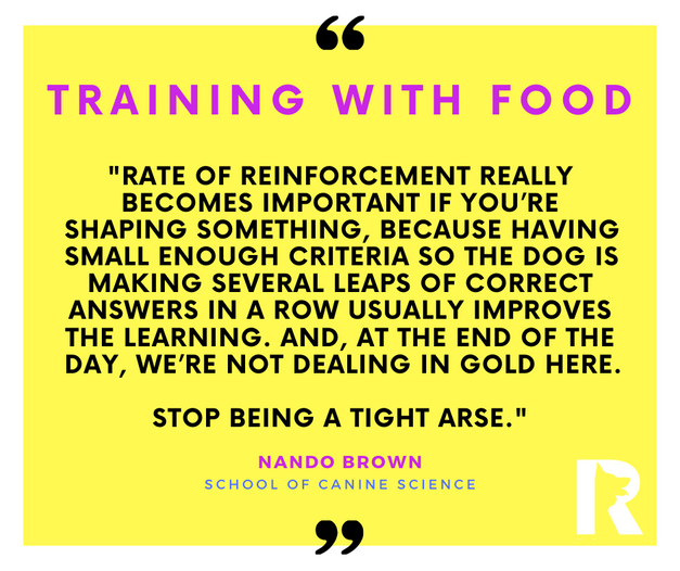Training with Food