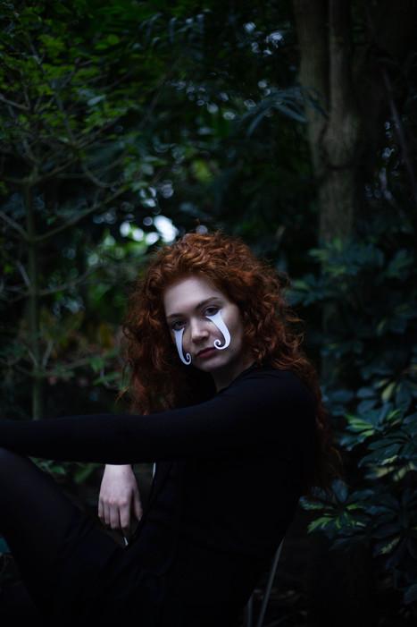 Modèle : Marion Coutance Photo/makeup : Marion Saupin