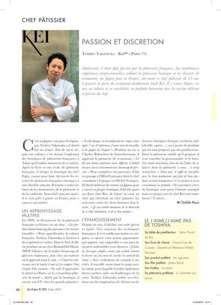 Le Chef 293 - Chef patissier