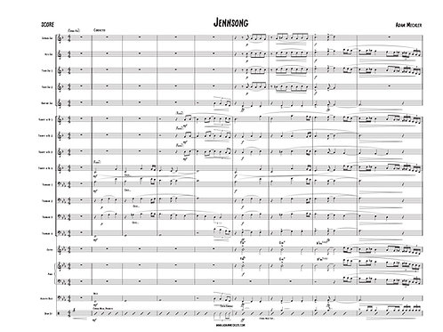 Jennsong [Score and Parts]