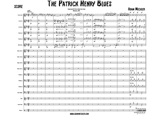 Patrick Henry Blues [Score and Parts]