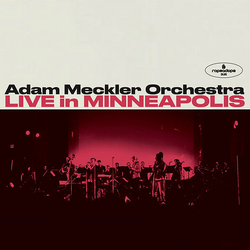 Adam Meckler Orchestra - Live in Minneapolis (Double CD)