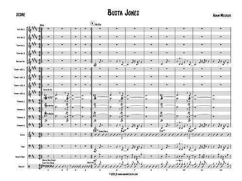 Busta Jones [Score and Parts]