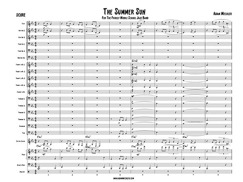 The Summer Sun [Score and Parts]