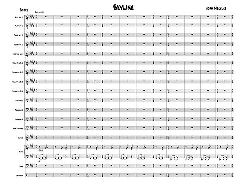Skyline [Score and Parts]