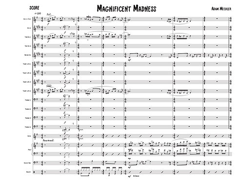 Magnificent Madness [Score and Parts]