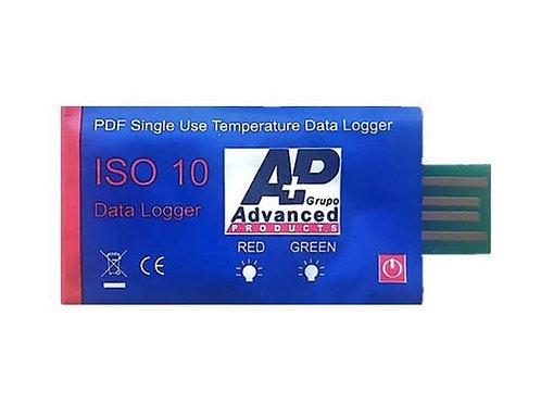 Termógrafo de un solo uso ISO10