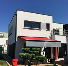Auvent terrasse maison Dinan